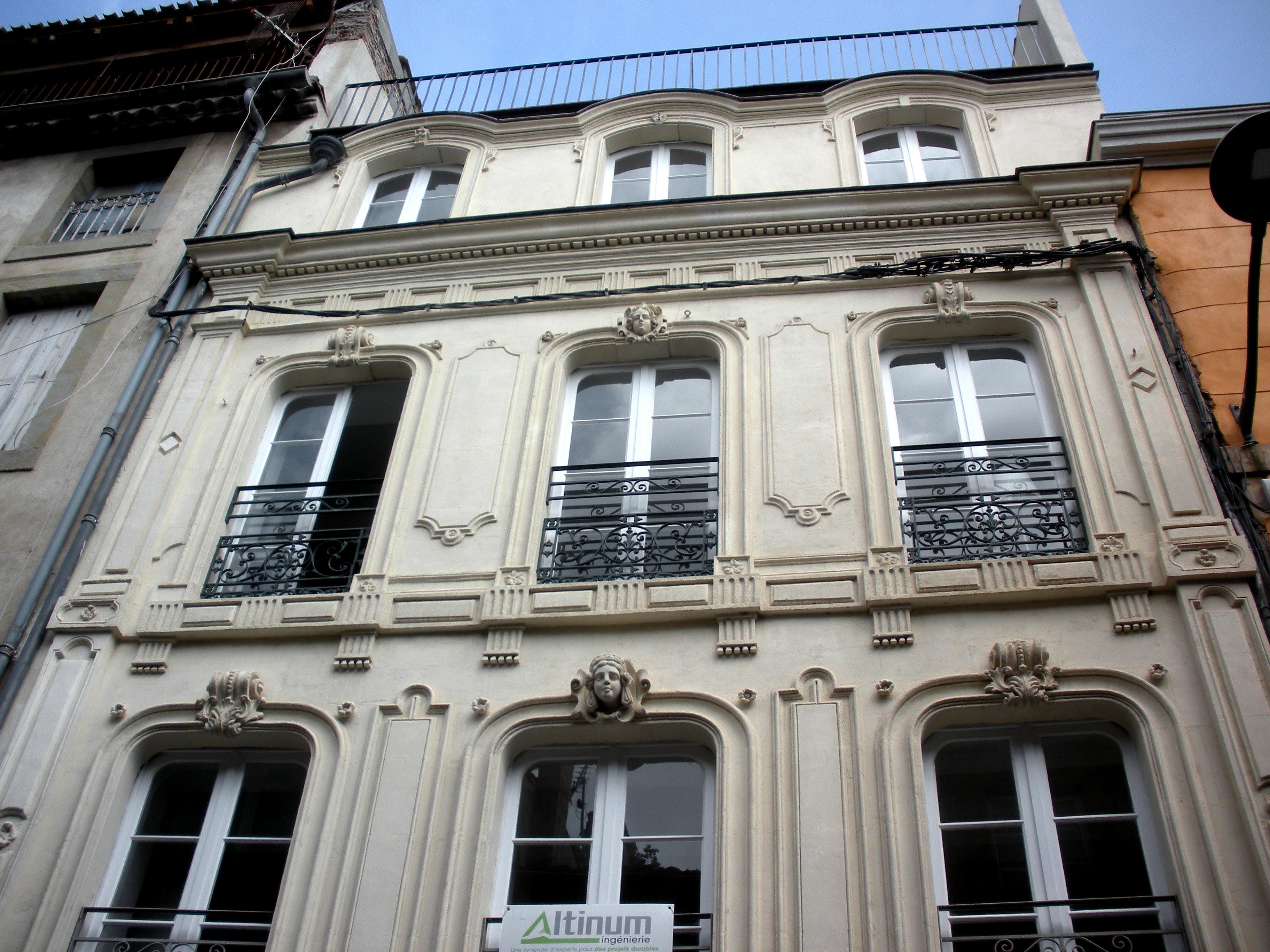 Cabinet Altinum - réhabilitation rue de la république à Carcassonne