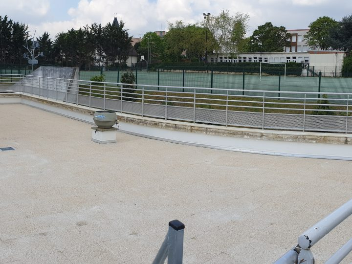 Réfection complète du toit terrasse du centre de loisir à Bievres